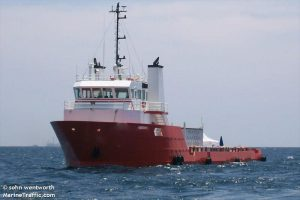 2000 165' X 36' OFFSHORE SUPPLY VESSEL.