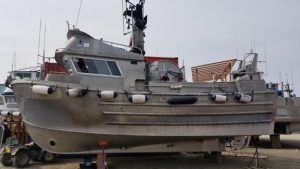 P2396M -1989 CURRY, FLUSH DECK, RSW, THRUSTER