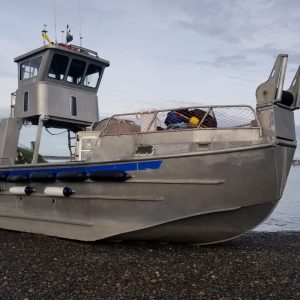 P2454M-  32' DOUBLE ENDER TOPHOUSE JET BOAT