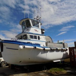 P2456M- 32' LAINE BOATS TOPHOUSE GILLNETTER PACKAGE